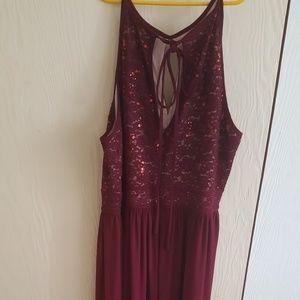 Nightway Plus Gown
